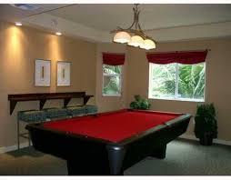 Pool Room Decor Pool Table Room Decor Interior Lighting Design Ideas
