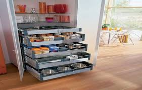 stunning pull out kitchen drawers cabinets ideas roll for