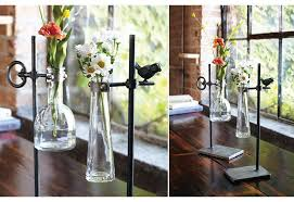Test Tube Vase Holder Tube Bud Vases Set Of 2 Vintage Inspired