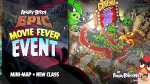 angry birds epic u201cmovie fever u201d mini map event is on now first