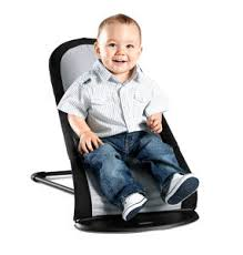 Baby Bouncing Chair Babybjörn Babysitter Balance Black Silver Cotton Mix Amazon Co