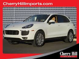 pre owned porsche cayenne inventory in cherry hill new jersey