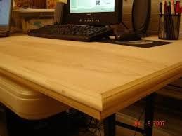Build A Wood Desk Top by How To Build Your Own Desk Computer Desk Plans Pt Money