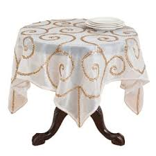 Coffee Table Linens by Embroidered Hand Beaded Table Linens Free Shipping On Orders