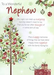 wedding wishes nephew to a wonderful nephew christmas greeting card cards kates
