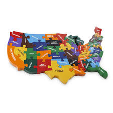 us map puzzle wood handmade wooden map of usa puzzle by wood like to play