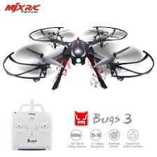 Radio Control Helicopters With Camera Mjx Bugs 3 6 Axis Gyro 2 4g Brushless Remote Control Drone Rc