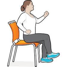 Armchair Aerobics Exercises Chair Based Aerobics Ldnmen Com