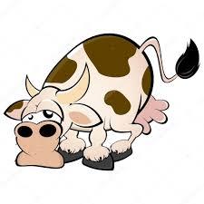 funny cartoon cow u2014 stock vector shockfactor de 11933770
