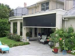 solarroll motorized garage door screens