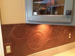 DIY Kitchen Copper Backsplash Copper Backsplash Kitchens And - Backsplash board