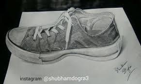 shubham dogra creates 3d drawings that seem to pop right off the