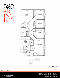 Arlington House Floor Plan by 530 Arlington Lakewood Nj Imperial