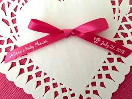 baby shower ribbons new 3 8 baby shower favor ribbon regal ribbons