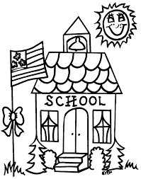 back to coloring page free download