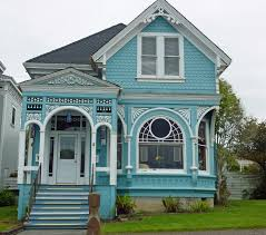 delightful old victorian home building design with walls painted