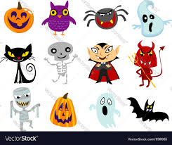 cartoon halloween picture halloween cartoons royalty free vector image vectorstock