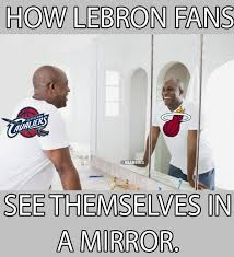 Looking In The Mirror Meme - nba memes on twitter lebron james looking at themselves in the