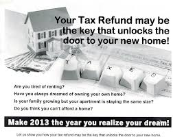 real estate and services buying house with your tax refund