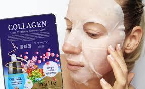 K Collagen review malie collagen ultra hydrating essence mask sheetmask k