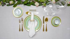 table setting how to set a table a guide to table setting architectural digest