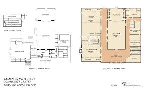 recreation center floor plan master plan of park u0026 recreation services 2004 apple valley ca