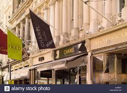 designer shops designer shops in bond mayfair uk stock photo