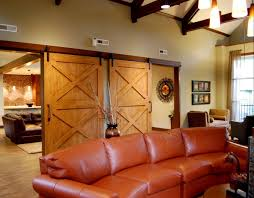 Sliding Horse Barn Doors by Beautiful Living Room By Using Sliding Barn Door Sliding Door