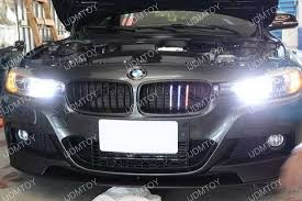 bmw black grill clearance bmw f30 3 series matte black center grille led