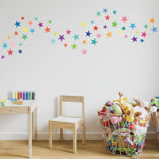 wall decals stars rainbow colors eco friendly fabric removable wall decals stars rainbow colors eco friendly fabric removable reusable wall stickers