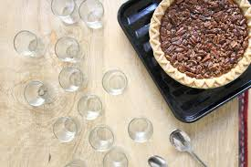 how to make pecan pie shooters for the holidays glitter inc