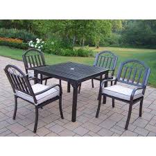 Iron Patio Table And Chairs Cast Iron Patio Dining Furniture Patio Furniture The Home Depot