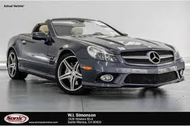 mercedes sl class for sale used mercedes sl class for sale in ca edmunds