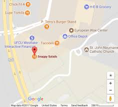 Frisco Texas Map Locations Find A Snappy Salads Near You Snappyssalads Com