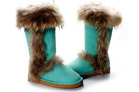 buy ugg boots zealand ugg purple fox fur side zipper boots buy cheapest ugg