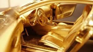 bugatti gold and 2 93 million bugatti veyron toy costs more than real car