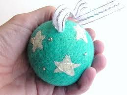 needle felting tutorial a sparkly tree ornament handmade felt toys
