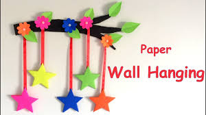 diy wall hanging from paper paper craft card board craft