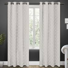 classy design ideas grey and white blackout curtains blackout