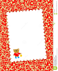 Christmas Invitation Cards Christmas Card With Blank Letter Royalty Free Stock Image Image