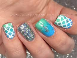 martini mermaid mermaid nail art snail vinyls serendipity nail polish 25