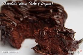 chocolate lava cake vegan and gluten free