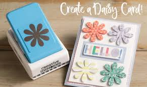 How To Make Punch Cards - a dash of scrapbooking how to make a daisy punch card by creative
