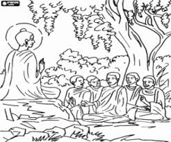 Buddhism Coloring Pages Printable Games Buddhist Coloring Pages