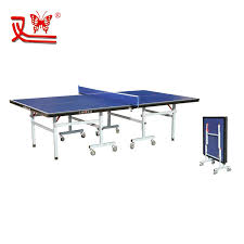 collapsible table tennis table china supplier indoor folding table tennis table with wheels buy