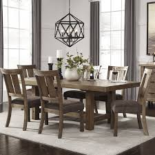 Loon Peak Etolin Counter Height Extendable Dining Table  Reviews - Countertop dining room sets