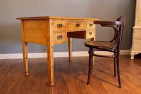 Kleiner Schreibtisch Jugendstil Schreibtisch In Kiefer Restauriert 02440
