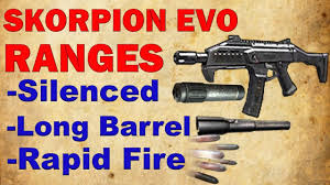 Evo Cooktop Reviews Skorpion Evo Ranges Raw Rapid Fire Silenced Long Barrel Black