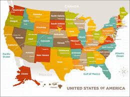 most beautiful us states wonderful canvas wall art wood grain us map molly bernarding 24x18