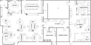 layout floor plan the exact floorplan of dunder mifflin